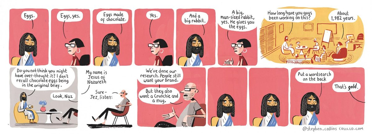 Love these every week in @guardianweekend RT @stephen_collins: EGGS JESUS JESUS EGGS http://t.co/jNLbfD5S7w http://t.co/rQ87GosAVC