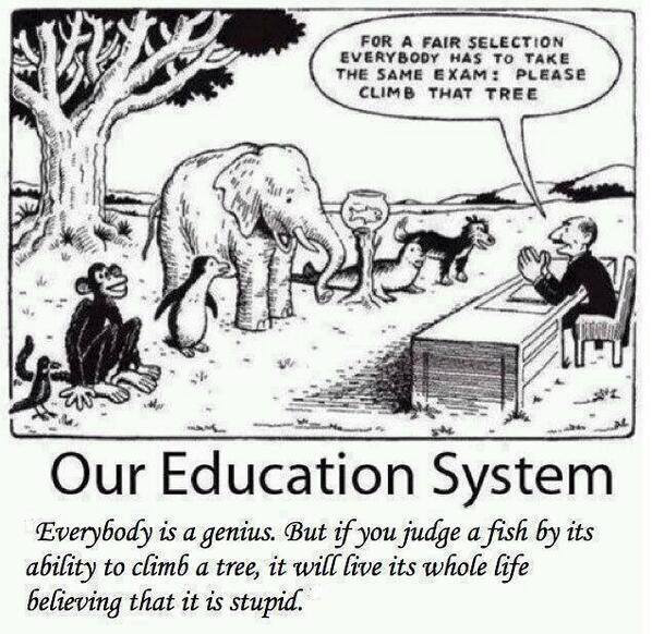"""""""@saher_a_khan: @Tony_Buzan @100MADGlobal Our Education System! This needs to change! http://t.co/fi8bOlJBw4"""".  Most apt #EducationCartoon!!"""