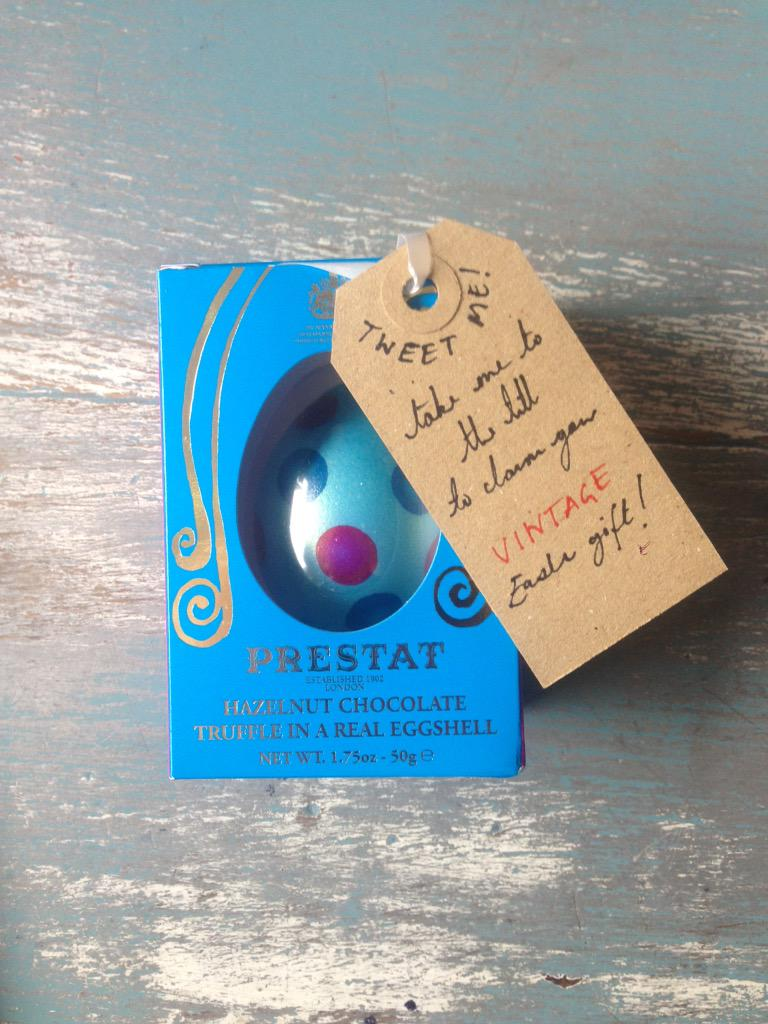 This egg has been hidden somewhere in the shop today! Come and hunt for it to claim your gift from @vintagebooks http://t.co/aqSPEYWTDl