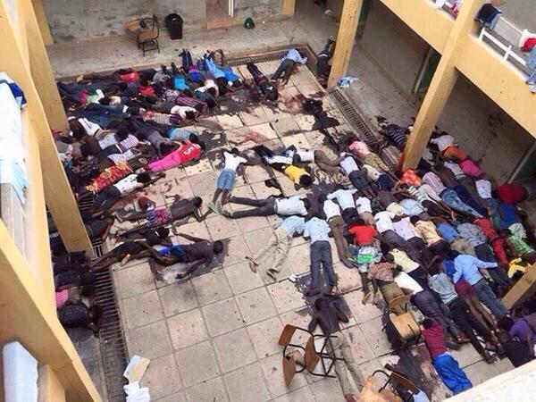 Pregunta fácil: ¿Cómo trataríamos esta salvajada si en lugar de Kenia fuese un país europeo? #Garissa http://t.co/xlXb9mfzxe