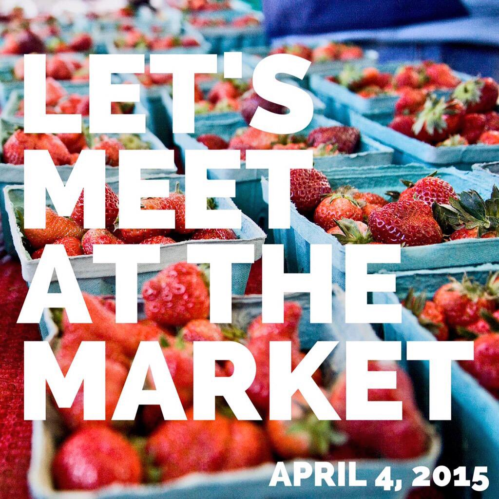 Hooray, it's Market Day. View the list of vendors for today here→  http://t.co/uF8YROwf1o http://t.co/piBJVFMXVD