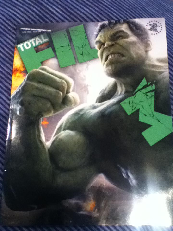 This month's subscribers issue of @totalfilm Best. Magazine. Cover. Ever. http://t.co/CpUGJMXy7P