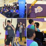 The Lakers teamed up w/ @TWC_SoCal & Connect A Million Minds to teach LA kids #STEMinSports: http://t.co/IjsK3w6o4S