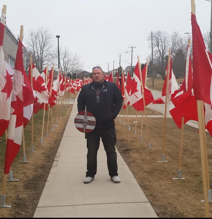Next April,Jeremy will begin a cross Canada walk to raise awareness for PTSD. Show your support @PTSDBattleCry http://t.co/monF6rHnwH