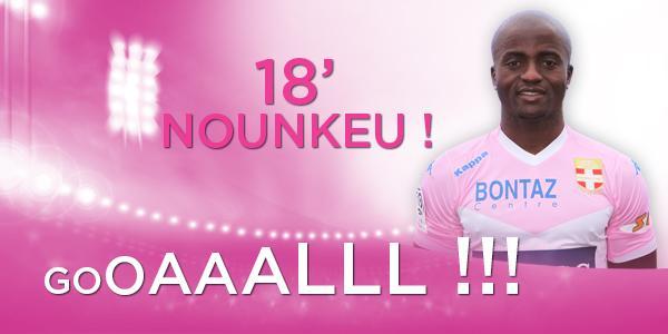 18' Ouiiiiiii @NounkeuD !! Sur le coup franc tiré par #Wass le défenseur place sa tête au 1er poteau ! #OGCNETG http://t.co/jdIGPtgUJ2