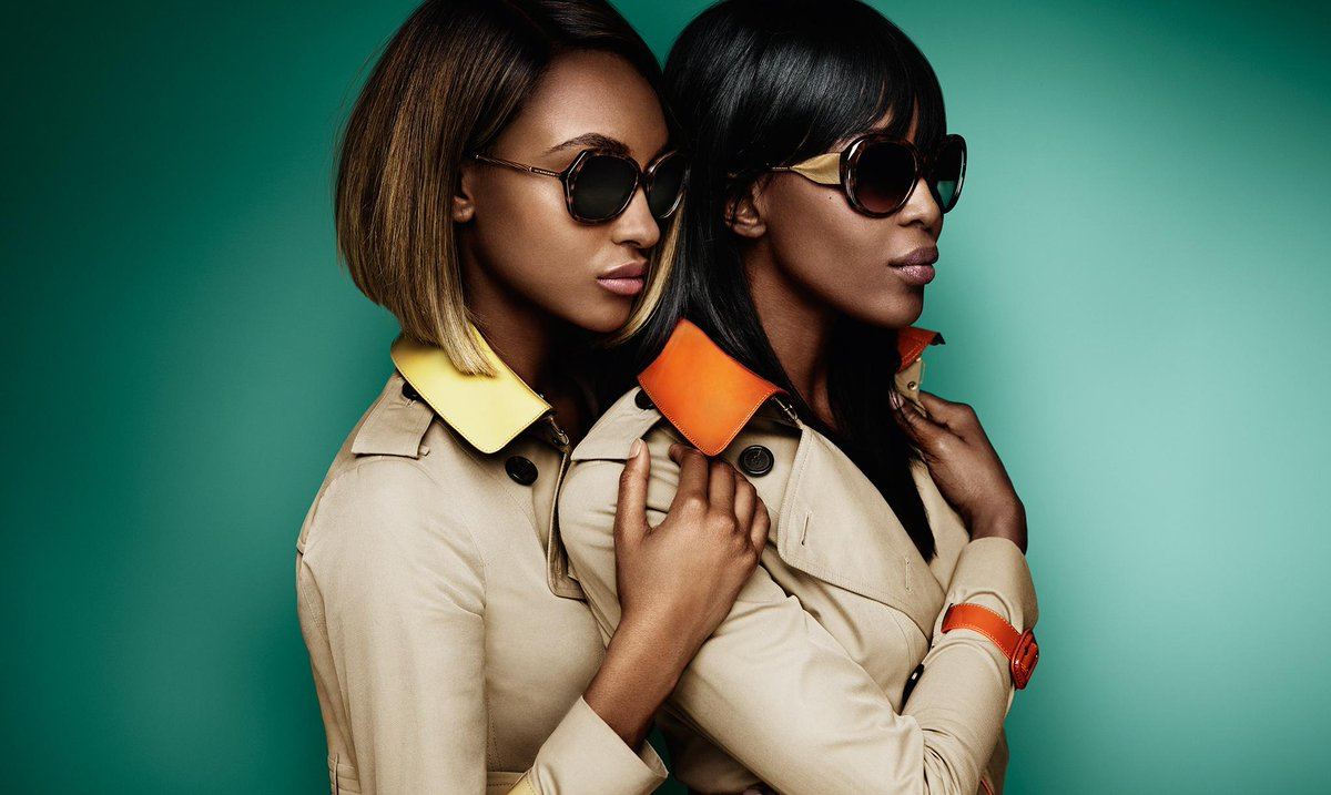 The @Burberry S/S15 campaign, featuring @NaomiCampbell and @MissJourdanDunn in The Gabardine Collection. http://t.co/7Dh3WzLeYv