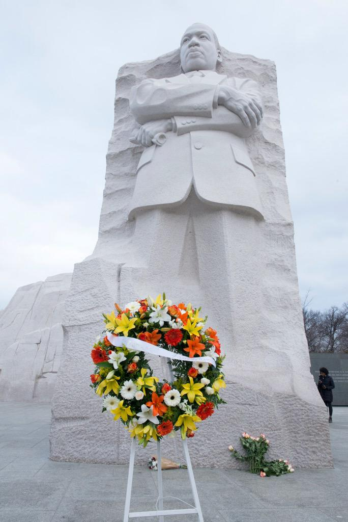Remembering...  Rev. Dr. Martin Luther King, Jr.   b  January 15, 1929 d  April 4, 1968  #MLK #MLKMemorial http://t.co/OBaU5Z7i2Z