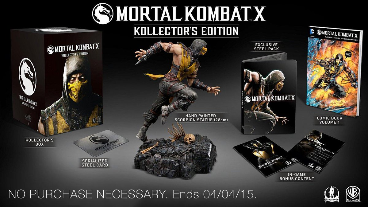 Follow & RT for a chance to win 1 of 2 MKX Kollector's Editions. #MKXonTwitch #AmazonSweeps http://t.co/foad29wurW http://t.co/EZcYHSjfun