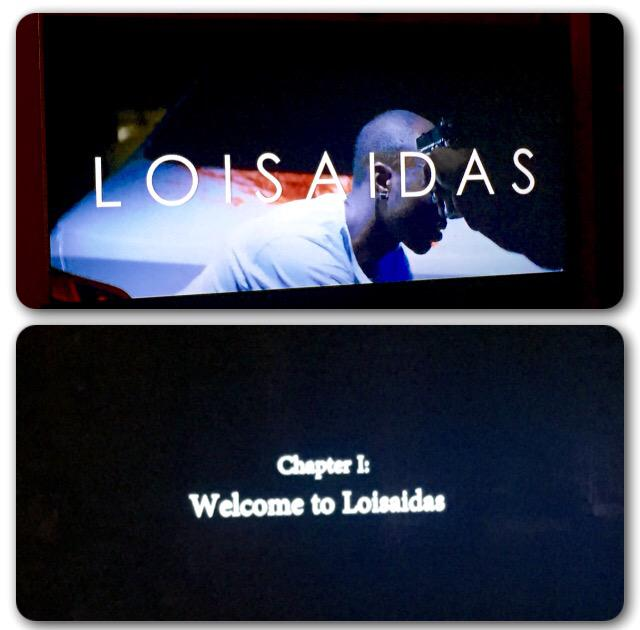 Watching @loisaidasmovie REAL TALK I'm already loving the music! Jumping up/down seeing LES on the screen @DashDamon http://t.co/JNPbOQYglB