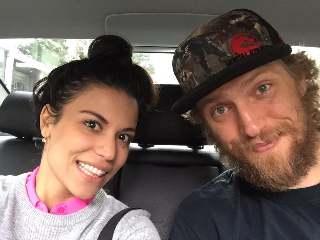 Alexis Cozombolidis (@LetsGetLexi): On our way to @Twitch HQ - can you guess what we're gonna play? http://t.co/rapQDMrziM