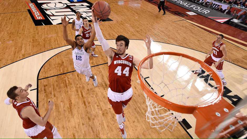 Your Wisconsin Badgers are heading to the National Championship! #OnWisconsin http://t.co/kBHEP6P8z1