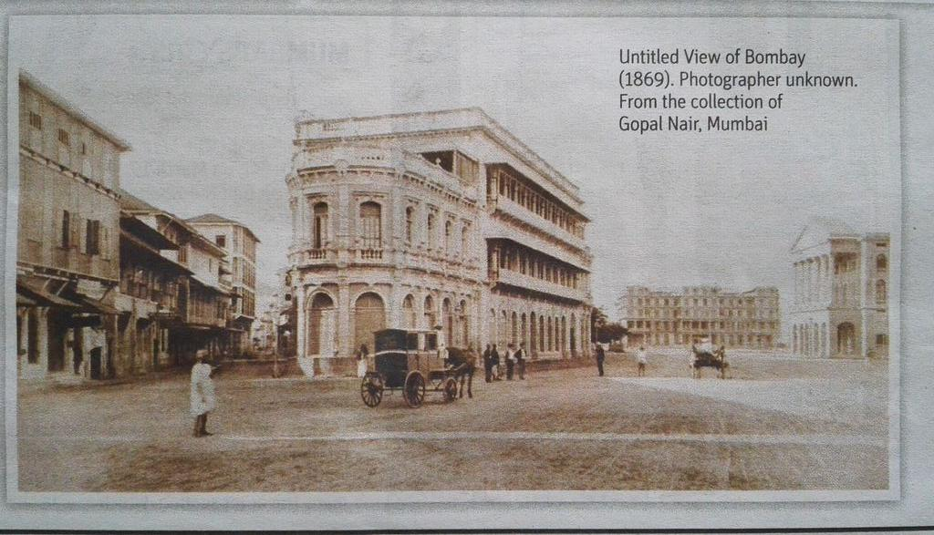 Quite sure that the third building seen in this picture is the erstwhile Watson's Hotel building @mumbaiheritage http://t.co/voYEHleBZb