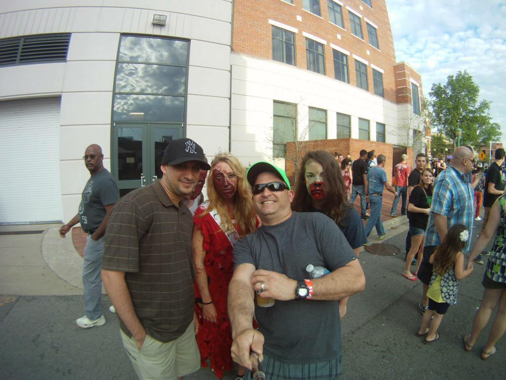 Rivers and Spires Festival... #zombiewalk #twdd #twd http://t.co/owlQxDC7go