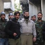 مع الشيخ يوسف ليلا قائد اللواء السابع في حي تشرين الدمشقي والقابون بدمشق بعد الإنتهاء مع عملية تمشيط مقرات داعش اليوم http://t.co/CiQnlWy8js