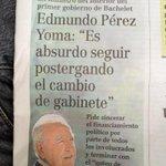 Pérez Yoma hablando de sincerar, y yo pediría sincerara sus abusos del uso de agua en campos de la IV y V región http://t.co/FuOIbhi5aN