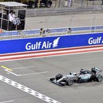 Congrats to @LewisHamilton and @MercedesAMGF1 for this new #BahrainGP victory! http://t.co/ANyULS06qO
