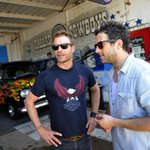#GALLERY Sat. @ #ACMawards50: ACM Charity #Motorcycle Ride http://t.co/4GswNOlCZd @DierksBentley @WillHoge http://t.co/shU6102K8G