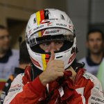 """VETTEL: """"A shame to damage the front wing, otherwise we had 4th in the pocket - maybe 3rd"""" #BahrainGP #F1atTwilight http://t.co/8MzGLLvbfJ"""