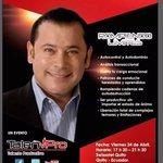 """Alex Dey en Ecuador """"Rompiendo Límites"""" el 24 de Abril en #Quito #AlexDeyEnQuito ???????????????????????????????????????? http://t.co/awKm91Y3Kn"""