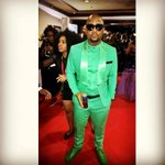 Nyovest on his power ranger swag. How many you think hell bag tonight? #samaxxi #amstelsa cc @amstelsa http://t.co/w8RskXsH1s