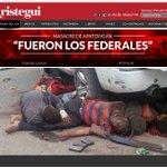 Inútil el hackeo a la página @AristeguiOnline.Ya el mundo lo sabe #FueronLosFederales y a nosotxss NoNosCallaran http://t.co/kX900yN1Fm