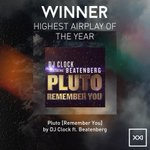The SAMPRA Award goes to the song with the Highest Airplay SAMA goes to: Pluto - @djclock @beatenberg_band #SAMAXXI http://t.co/Kbsz1Zni15