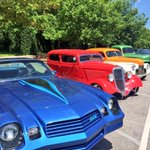 Lots of fun, classic cars on South Congress for #lonestarroundup in #Austin this weekend http://t.co/bMd4V0rJYq