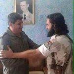 أمير داعش في صورة له في دمشق أبو طلحة اتضح أنه ضابط بجيش الاسد #ماريا_معلوف #عاصفة_الحزم http://t.co/Mr5ons5qSD