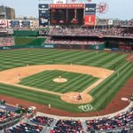 Always great watching my @Nationals in DC. Its also a nice day. #Natitude http://t.co/JPjfaQbPd5