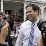 """Republican Sen. Marco Rubio doubts manmade global warming, says """"climate is always changing."""" http://t.co/lPd3nEbMsY http://t.co/BlqFeAZsUy"""