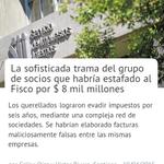 """Empresarios"" estafaron al fisco. Por supuesto todos sabíamos, según Pérez Yoma. http://t.co/DKETcnm68R @24HorasTVN http://t.co/9xHpm0vwIS"