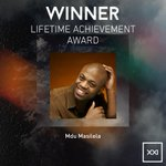 The next Lifetime Achievement Award, brought to you by @AmstelSA, is presented to M'du Masilela. #SAMAXXI http://t.co/SlulPazq91