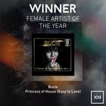 #FemaleArtistoftheYear The SAMA goes to @bucienqwiliso Download album on iTunes http://t.co/XfDikWdTcf #SAMAXXI http://t.co/QcAbjZv6vr