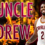 Uncle Drew is HOT! Kyrie Irving hits buzzer-beating 3 to end half as Cavs lead Celtics, 62-54. Irving has 20 points. http://t.co/CCAxBEPAAh