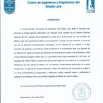 @PorHumanidad COMUNICADO del @Ciel_CIV sobre detención arbitraria del Ing° LUIS VASQUEZ CORRO #19A http://t.co/5LhwUeCwro #Lara