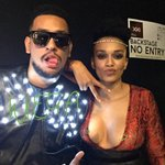 #BackstageAtSAMAXXI with @akaworldwide @pearlthusi #SAMAXXI #TwitterMirror http://t.co/kB2hvZcLVq