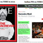 Indian PM on @TIME in 2012 = The Underachiever. Indian PM on @TIME in 2015 = The Reformer in Chief.   #AccheDin :) http://t.co/i2ur2IJE8l