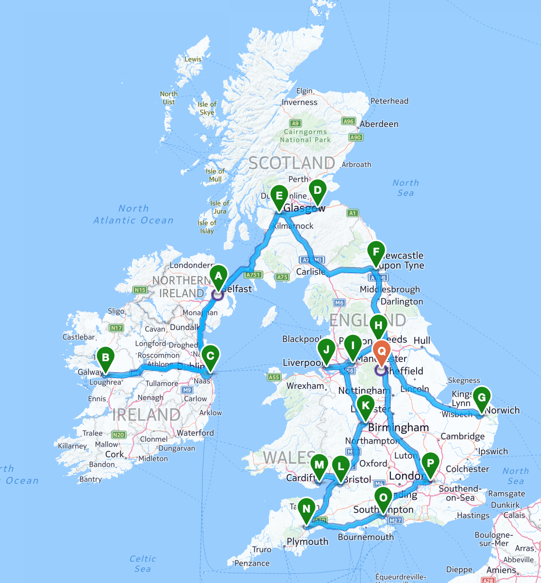 This is what the month of May 2015 looks like for me & Lucy Spraggan! #Unsinkable #UnsinkableTour #UK #Ireland http://t.co/guP1l1bvnN