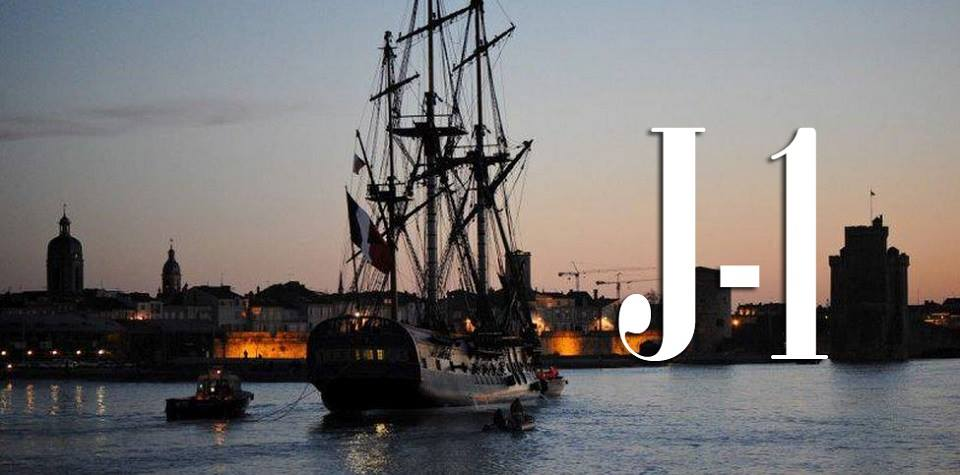 #Hermione2015 => 235 years later, the Lafayette Hermione ship will set sail for the USA tomorrow ! @hermionevoyage http://t.co/7k6ozP7B0R