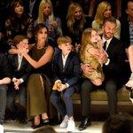The Beckham family, ladies and gentlemen: http://t.co/AP6RoDx36w http://t.co/C9q60LDfSV