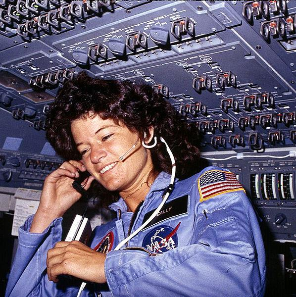 Today in Science History: In 1982, the U.S. announced the first woman astronaut, Sally Ride. http://t.co/x400AKUfHl