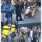 What a great day for #paradeofwonders #comicExpo #iamdowntown #yyc http://t.co/H9FhFXUlNU