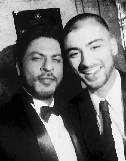 This kid is so cool. May Allah bless him. Dinner time at the Asian Awards.
