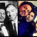 SHAH RUKH KHAN & ZAYN MALIK - RT if you have been waiting since days to see them click a selfie together http://t.co/drSP1vYcY9