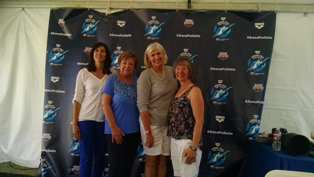 3 moms of Olympic swimmers and mom of 2 local swimmers talked about raising athletes. @SwimmingWorld #funnestsport http://t.co/YKpphBWPMQ