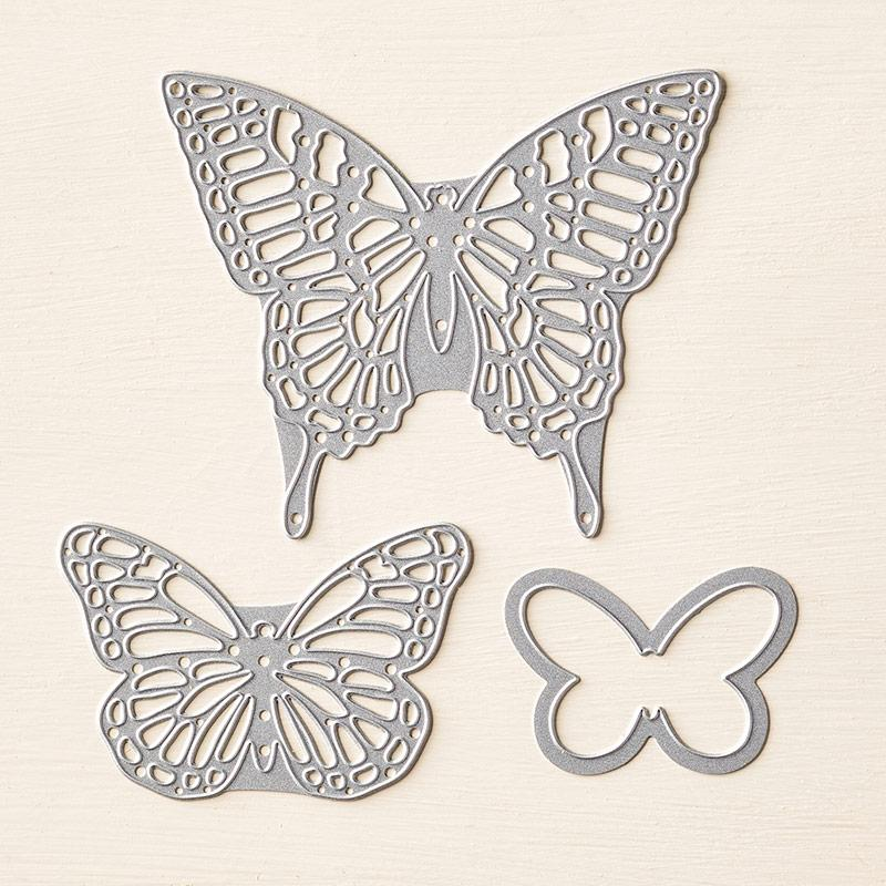 Butterflies Thinlits Dies are back in stock and 15% off! (Discount good through April 30.) http://t.co/dJN77FecCL http://t.co/2v8VVvAWeN
