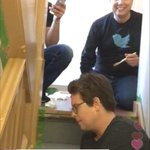 Saw @biz on Periscope doing some #FridayforGood, painting a stairway earlier: http://t.co/E2Co0Iqx2N