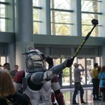Clone trooper selfies, best in the galaxy far far away...#SWCA http://t.co/s4bBN3xTB9