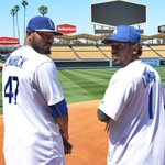 """@Dodgers: Howie Kendrick Lamar. First pitch, April 27. http://t.co/6NmJmg5IDh"" !!!!!!"