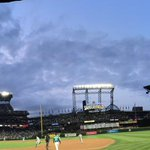 Beautiful night at the ballpark @Mariners @seattlestorm #firstpitch @jloyd32 #OneSeattle http://t.co/yhxRRmBoLO